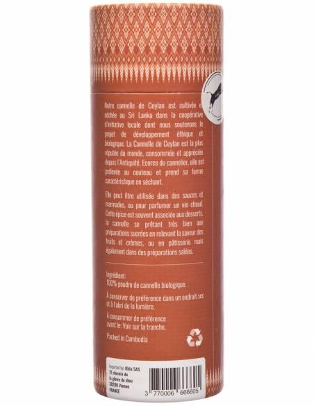 cannelle de ceylan moulue bio packaging