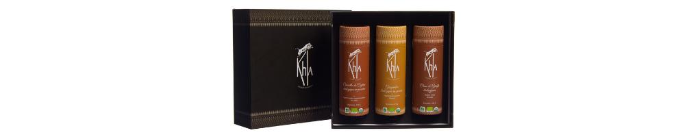 Coffrets cadeau d'épices bio - KHLA, épicerie fine en ligne