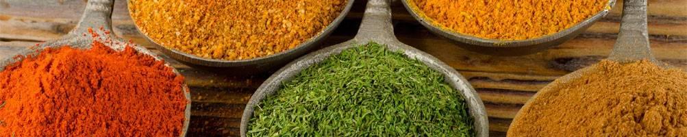 Epices en poudre bio - KHLA, épicerie fine bio d'Asie