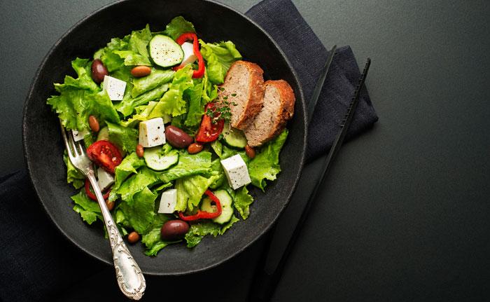 salade aux épices